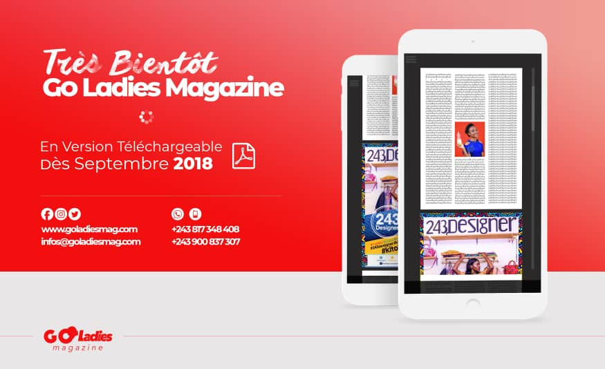 Version téléchargeable de Go Ladies Magazine dès Septembre 2018